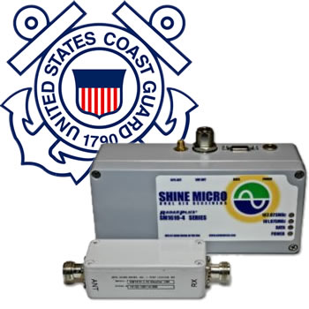 SM1610-4 enhanced AIS Receivers with LNA and USCG logo