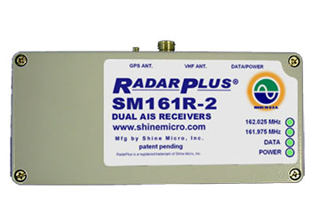 RadarPlus® SM161R-2 Series Dual AIS Receivers