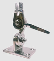 Stainless steel ratchet mount 1X14 male with side-slot (M99)