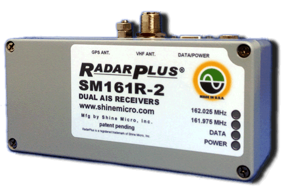 Shine Micro RadarPlus SM161R-2 Dual AIS Receivers