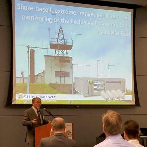 Shine Micro President Mark Johnson, presenting at the 2016 PNDC Maritime Defense Symposium