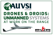 AUVSI Cascade Drones and Droids: Unmanned Systems at work on the range